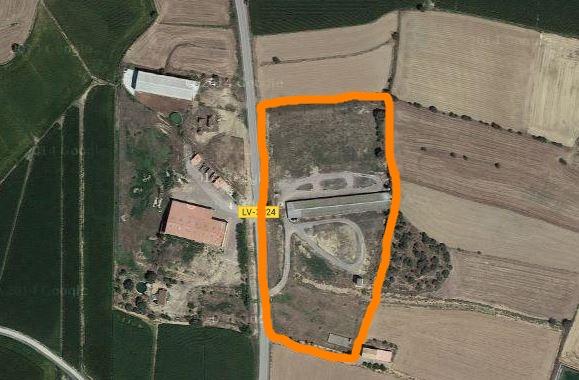mapa granja